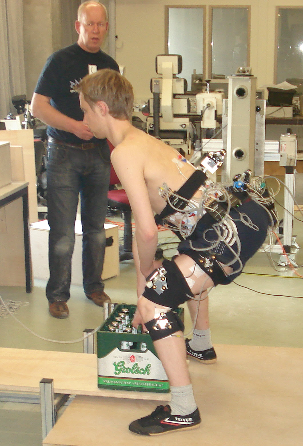 afsteunen bij GewichtHeffersTechnieken