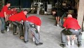 preventie fysieke overbelasting met toolbox groepsgewijze training