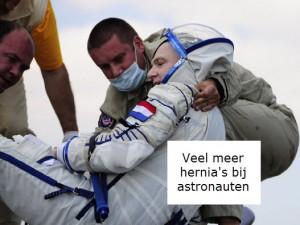 Lage rugpijn en astronauten