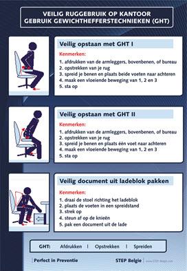 RSI Preventie met rugscholing