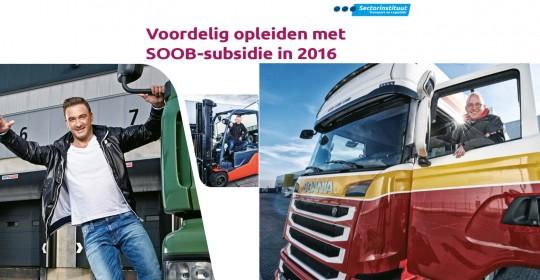 Subsidies voor STEP rugscholing in transport